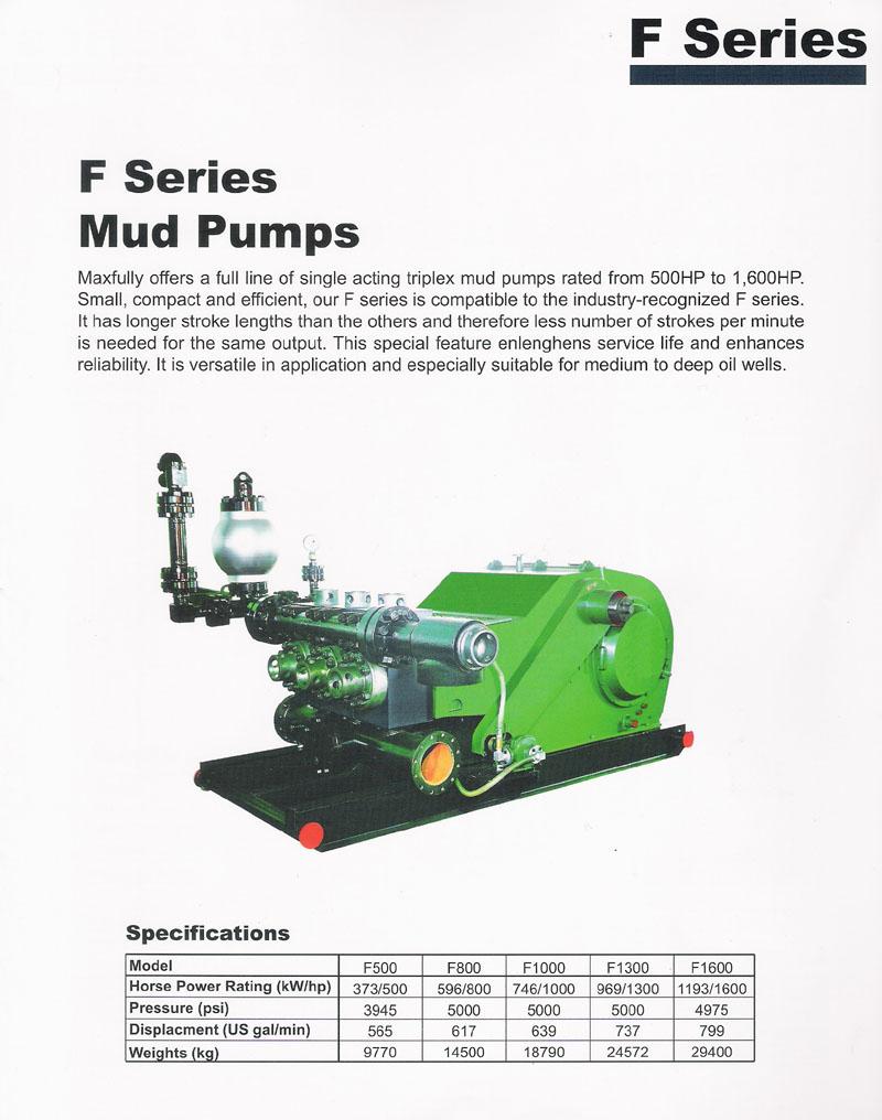 F Series Mud Pumps