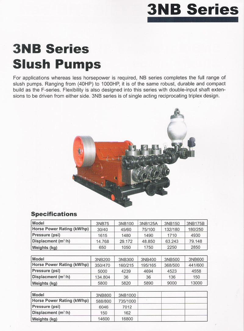 3NB Series Slush Pumb