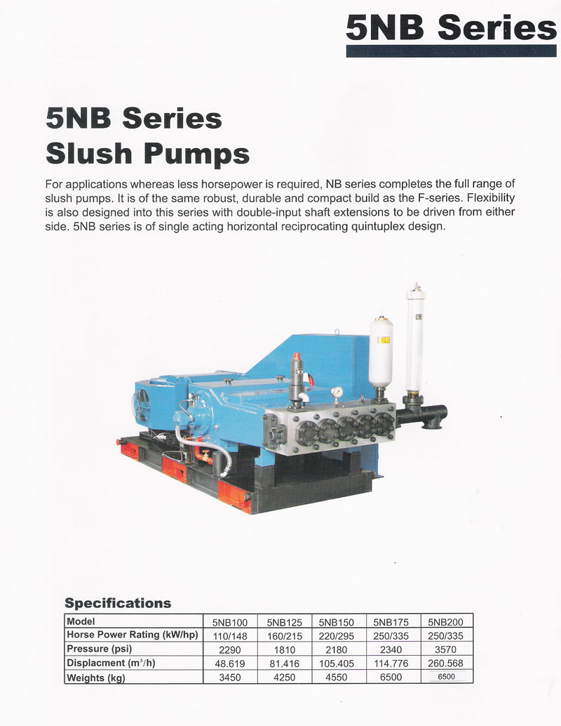 5NB Series Slush Pumb